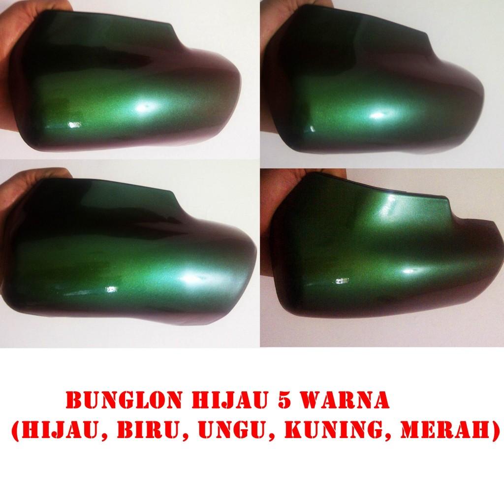 Cat bunglon hijau 5 warna helypaints