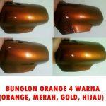 Cat bunglon orange 4 warna