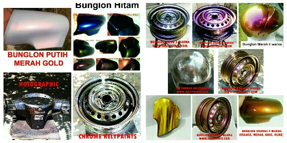 Cat bunglon and chrome paint helypaints