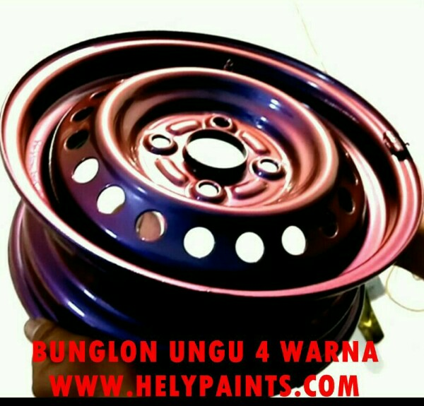 Cat bunglon ungu Chameleon Paint
