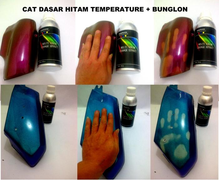 Cat thermochromic bunglon helypaints