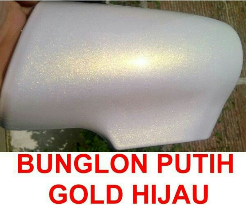 Cat bunglon putih gold