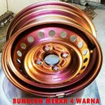 Cat bunglon velg merah