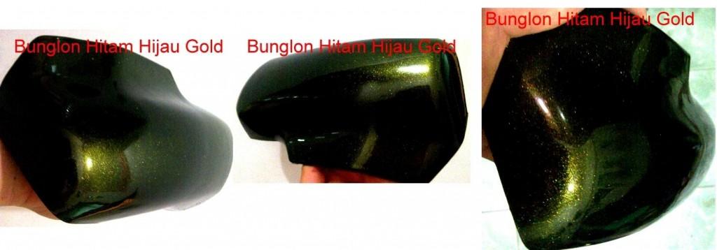 Cat bunglon hitam gold helypaints