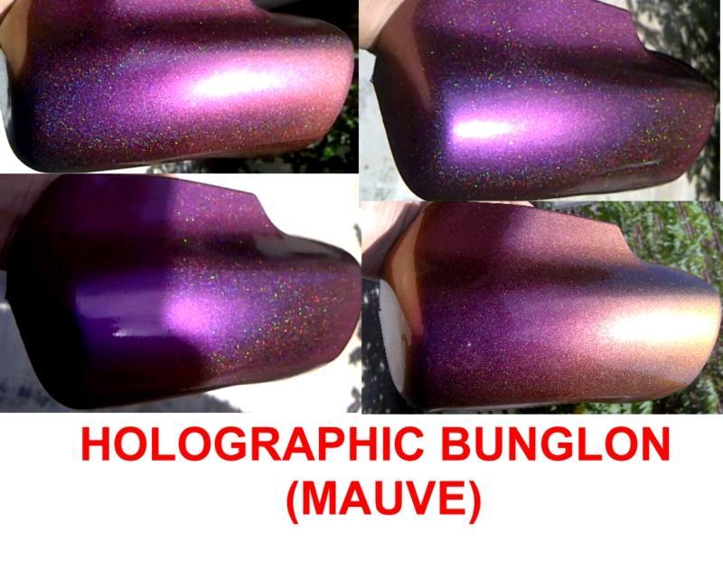 holographic bunglon mauve1