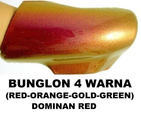 Cat bunglon merah 4 warna helypaints